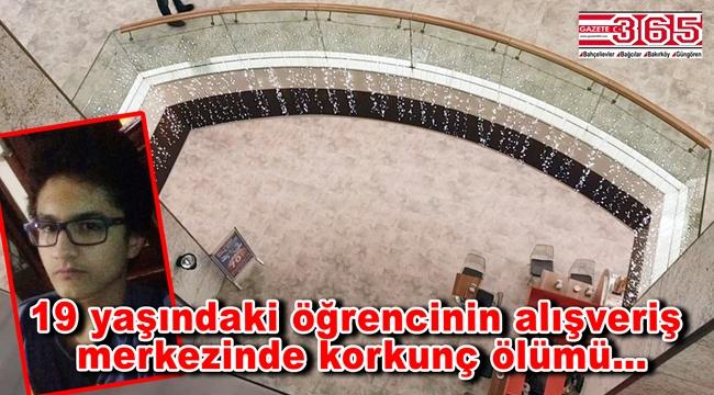 Bakırköy'de AVM'de şok ölüm!
