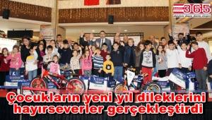 Bakırköy'de çocuklar dileklerine kavuştu