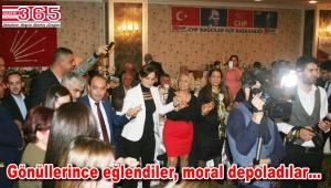 CHP Bağcılar İlçe Örgütü 'Dayanışma Gecesi' düzenledi