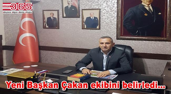 MHP Bahçelievler'in yeni yönetiminde görev dağılımı yapıldı