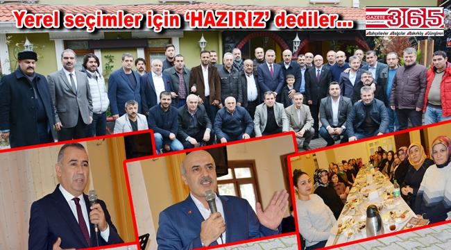 MHP Bahçelievler Teşkilatı aileleriyle birlikte kahvaltıda buluştu
