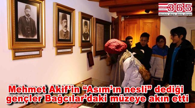Öğrenciler Mehmet Akif Ersoy'u unutmadı