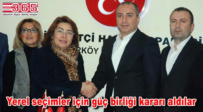 AK Parti Bakırköy Teşkilatı MHP'yi ziyaret etti