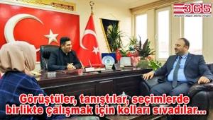 AK Parti Güngören Teşkilatı MHP'yi ziyaret etti