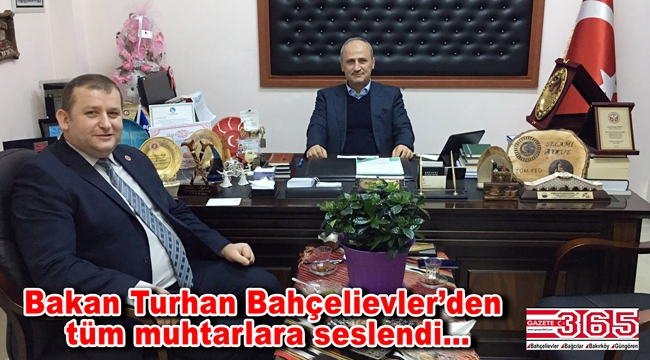 Bakan Cahit Turhan, TÜMFED Başkanı Selami Aykut'u ziyaret etti