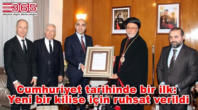 Bakırköy'de yeni bir kilise inşa edilecek…