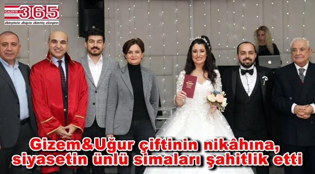 CHP Bakırköy Gençlik Kolu Başkanı Gizem Başaran evlendi