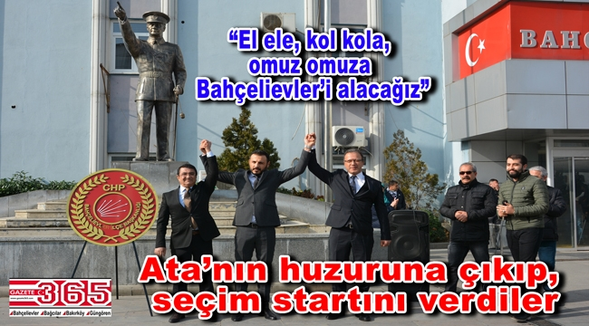 CHP'nin Bahçelievler Adayı Mehmet Ali Özkan hızlı başladı