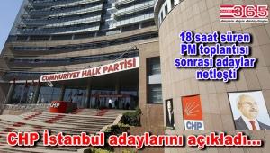 CHP'nin İstanbul ilçe belediye başkan adayları belli oldu