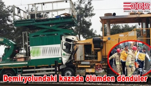 Florya'da tren hattında kaza: 2 yaralı…