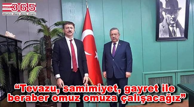 Hakan Bahadır, Osman Develioğlu'nu ziyaret etti