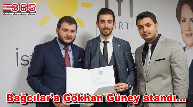 İYİ Parti Bağcılar İlçe Gençlik Kolu Başkanı Gökhan Güney oldu