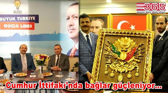 MHP'liler AK Parti teşkilatlarına iade-i ziyaretler yaptı
