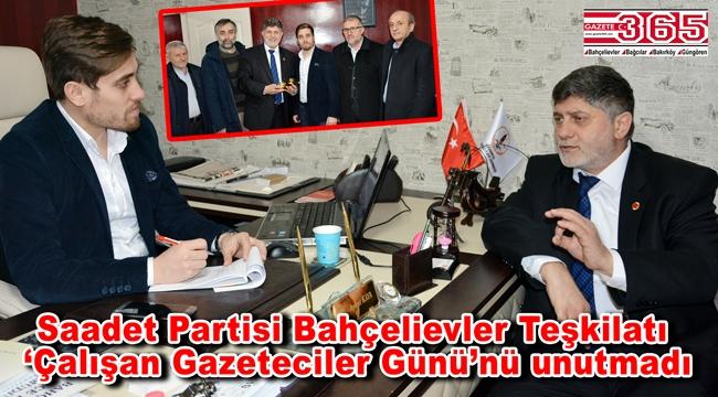 Saadet Partisi Bahçelievler Belediye Başkan Adayı Yaşar Avcı'dan Gazete 365'e ziyaret…