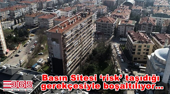 Bahçelievler'de 80 daireli site mühürlendi: Daireler boşaltıyor