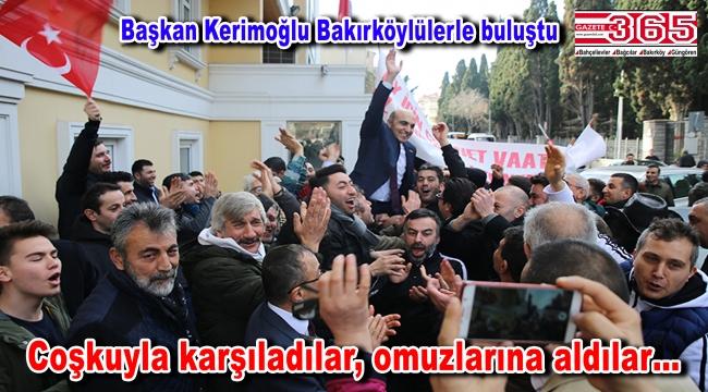 CHP'nin Bakırköy Adayı Bülent Kerimoğlu seçim startını verdi
