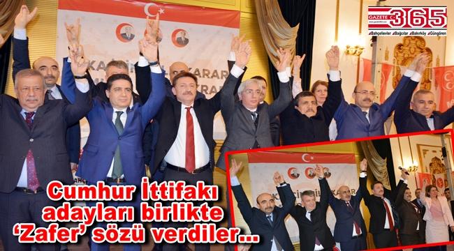 Cumhur İttifakı'nın MHP'li meclis üyesi adayları görücüye çıktı