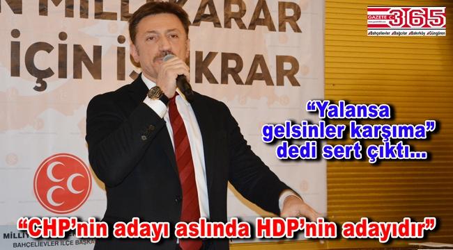 Hakan Bahadır HDP üzerinden CHP'ye yüklendi: