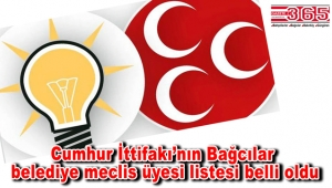 İşte AK Parti Bağcılar Belediye Meclis Üyesi Adayı Listesi…