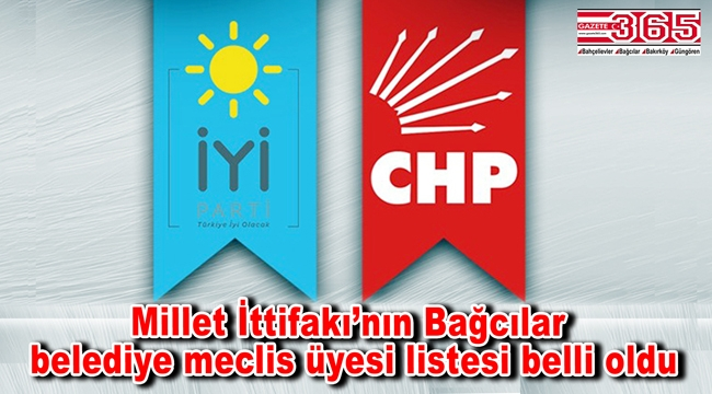 İşte İYİ Parti Bağcılar Belediye Meclis Üyesi Adayı Listesi…