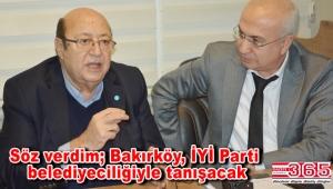 İYİ Parti'nin Bakırköy Belediye Başkan Adayı Ateş Ünal Erzen oldu