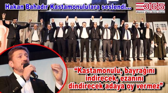 AK Parti'nin Bahçelievler Adayı Hakan Bahadır hemşehri buluşmalarını sürdürüyor