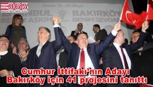 AK Parti'nin Bakırköy Adayı Mehmet Umur projelerini açıkladı