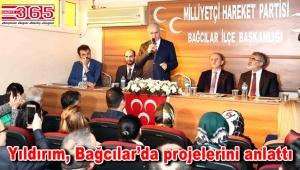 AK Parti'nin İstanbul Adayı Binali Yıldırım Bağcılar'a geldi