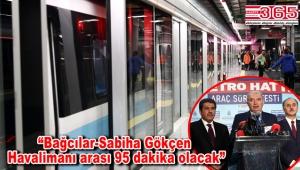 Avrupa Yakası'nın ilk sürücüsüz metrosu Bağcılar'da test sürüşüne başladı