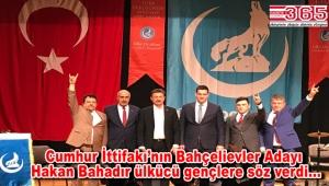 Bahçelievler Ülkü Ocakları'nın 'Türk Gençlik Şöleni'nde büyük coşku yaşandı