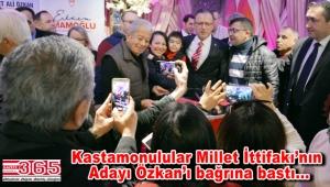 CHP'nin Bahçelievler Adayı Mehmet Ali Özkan hemşerileriyle buluştu