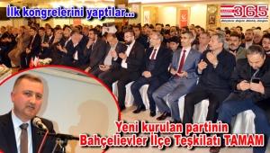 Yeniden Refah Partisi Bahçelievler İlçe Başkanı Fatih Eroğlu oldu