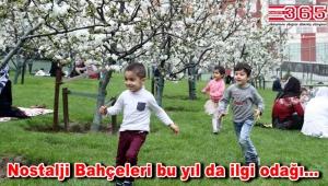 Bağcılarlılar baharı 'Nostalji Bahçeleri'nde karşılıyor
