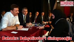 Başkan Hakan Bahadır ilk 'Halk Günü'nde vatandaşlarla buluştu