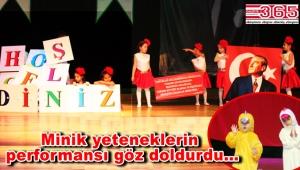 Kocasinan Anaokulu öğrencileri 23 Nisan Çocuk Bayramı'nı coşkuyla kutladı