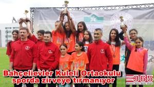 Kuleli Ortaokulu'nun şimdiki hedefi; Türkiye şampiyonluğu…