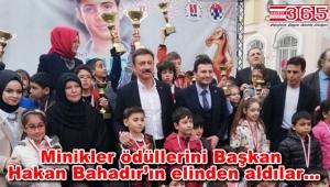 Şehit Mahir Ayabak Santranç Turnuvası Ödül Töreni yapıldı