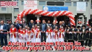 Vali Cahit Bayar İlkokulu 30. Yılını kutladı
