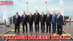 19 Mayıs'ın 100. yılında liderlerden takdir toplayan 'Birlik' pozu…