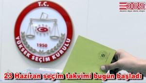 23 Haziran'daki İstanbul seçiminin takvimi belli oldu. İşte detaylar…