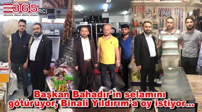 AK Partili Meclis Üyesi Mustafa Şahin dur durak bilmiyor
