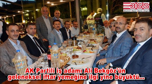 Ali Bekgöz dostları ve çalışanlarıyla iftar sofrasında buluştu