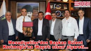 Ordu'nun köy dernekleri Başkan Kerimoğlu'nu ziyaret etti