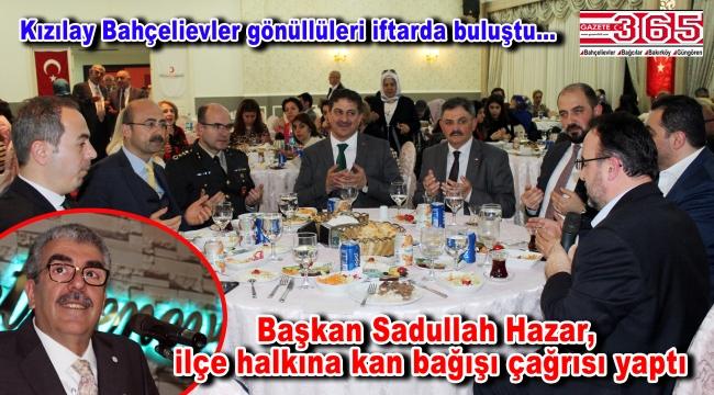 Türk Kızılayı Bahçelievler Şubesi, iftar geleneğini bozmadı