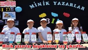 Vali Cahit Bayar İlkokulu'nun öğrencileri kitap yazdı