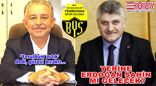Yenibosnaspor'da neler oluyor? Ahmet Taş'ın yerine Erdoğan Şahin…