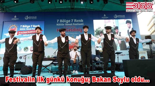 7 Bölge 7 Renk Festivali, Karadenizliler gecesiyle başladı