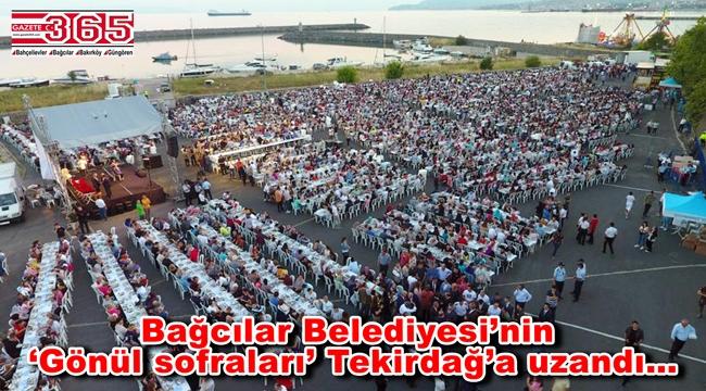 Bağcılar Belediyesi gönül sofrasını Tekirdağ'da kurdu