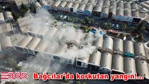 Bağcılar İSTOÇ Ticaret Merkezi'nde yangın çıktı
