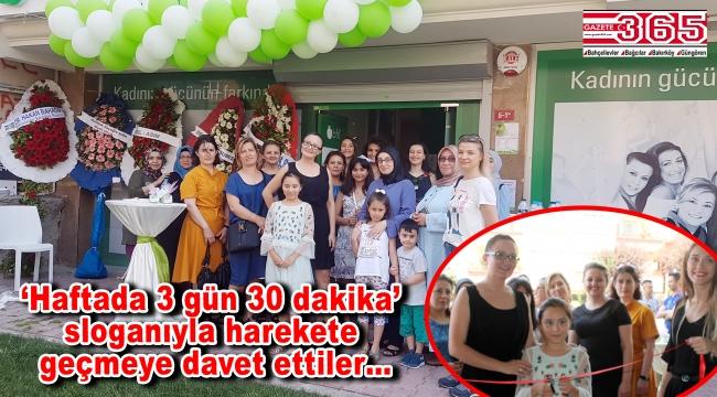 Bahçelievler'de 'Kadınların Yaşam ve Spor Merkezi' açıldı